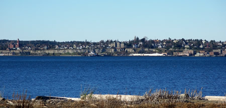Port Townsend from Fort Flagler